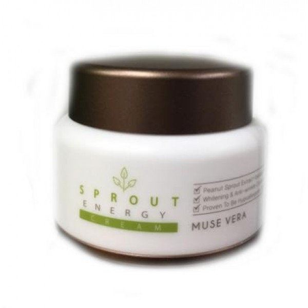 Крем Deoproce Sprout Energy Cream 50 мл the yeon canola honey silky hand cream крем для рук с экстрактом меда канола 50 мл