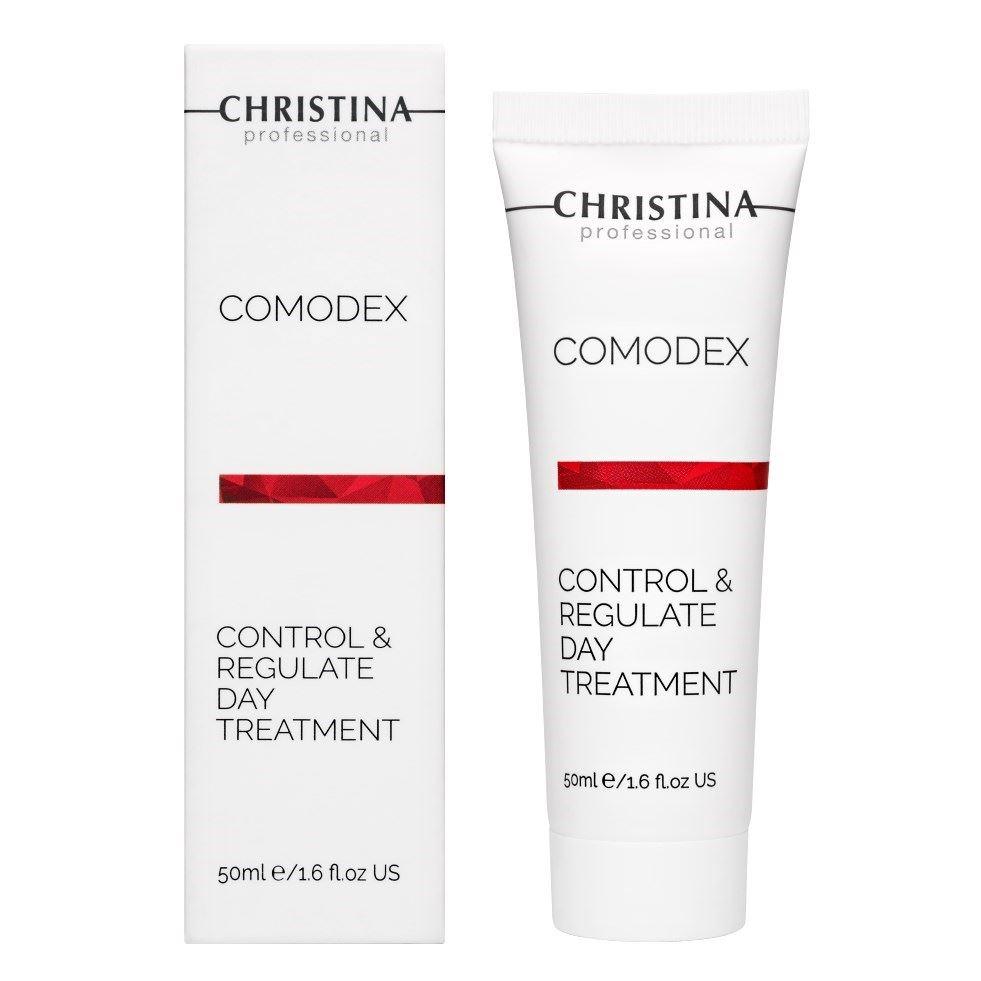 Сыворотка Christina Control & Regulate Day Treatmen 50 мл крем christina comodex mattify