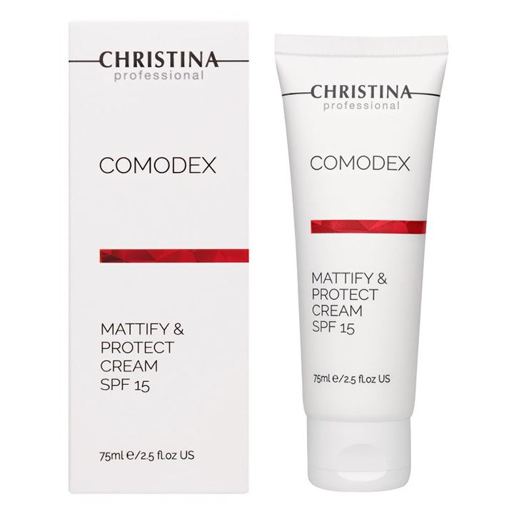 Крем Christina Step 7 Mattify & Protect Cream SPF-15 75 мл крем depilica professional foot cream step 5 200 мл