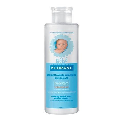Вода Klorane Очищающая мицеллярная вода с Физио экстрактом Календулы (2*500 мл) klorane мицеллярная вода klorane bebe 500 мл очищающая