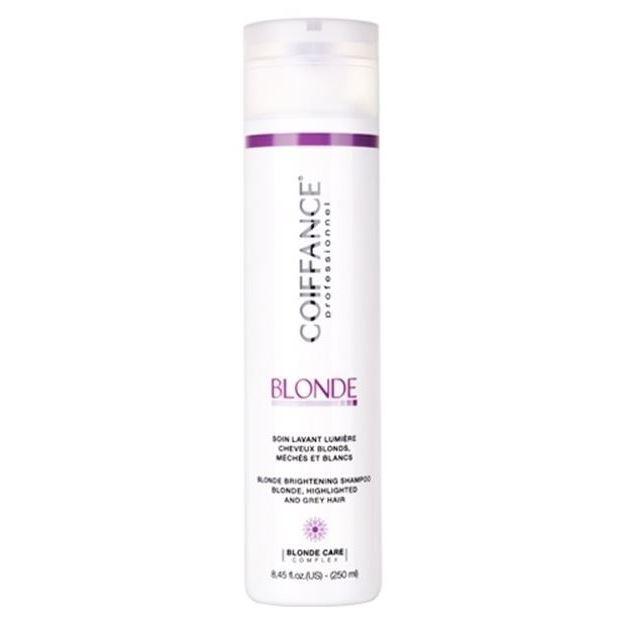 Шампунь Coiffance Professionnel Blonde Brightening Shampoo Blond, Highlighted And Grey Hair  250 мл шампунь coiffance professionnel eucalyptus shampoo