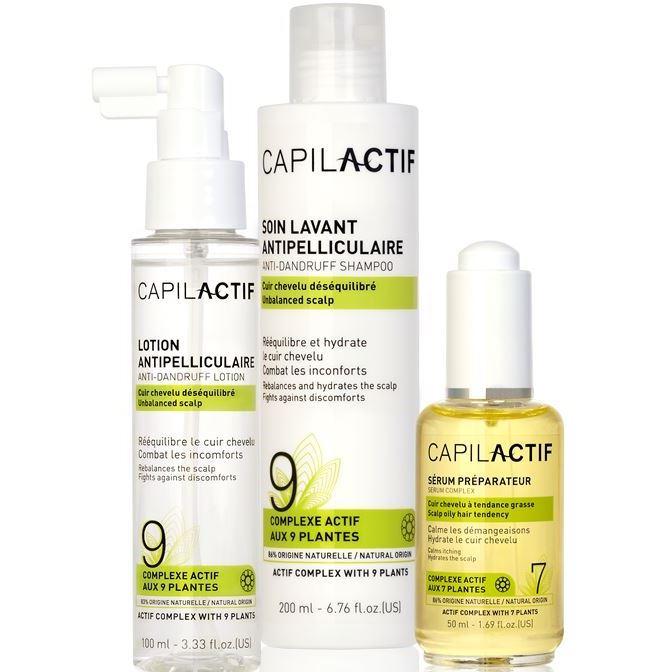 Набор Coiffance Professionnel Anti-Dangruff Set (Набор: сыворотка, 50 мл + шампунь, 200 мл + лосьон, 100 мл) сыворотка coiffance professionnel liss line smoothing serum