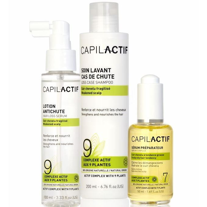 Набор Coiffance Professionnel Loss Care Set (Набор: сыворотка, 50 мл + шампунь, 200 мл + лосьон, 100 мл) сыворотка coiffance professionnel liss line smoothing serum