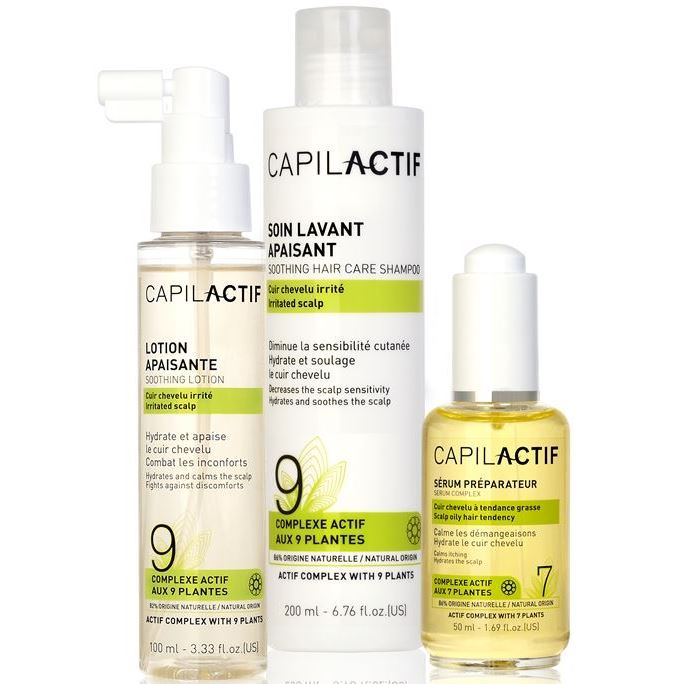 Набор Coiffance Professionnel Soothing Hair Care Set (Набор: сыворотка, 50 мл + шампунь, 200 мл + лосьон, 100 мл) спрей coiffance professionnel curl line curl spray 200 мл