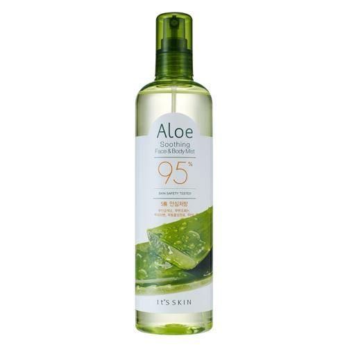 Спрей It s Skin Aloe 95% Soothing Face & Body Mist 400 мл it s skin успокаивающеегидрофильное