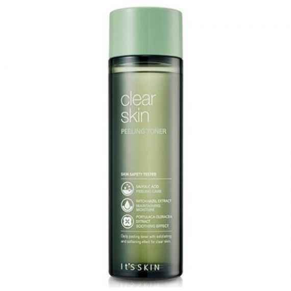 Тоник It s Skin Clear Skin Peeling Toner it s skin успокаивающийочищающийгель