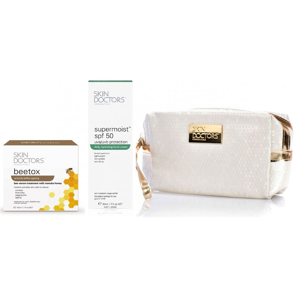 Набор: Крем Skin Doctors BeeTox + Supermoist™ SPF 50+ Set skin caviar luxe крем люкс для лица 50 мл