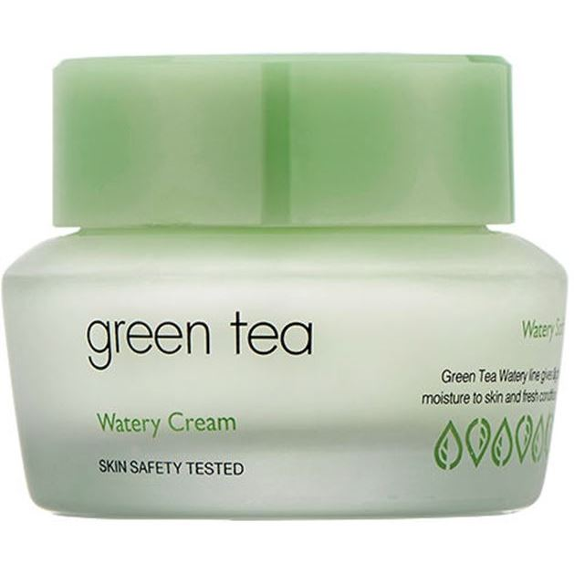 Крем It s Skin Green Tea Watery Cream маска it s skin green tea watery mask sheet 1 шт