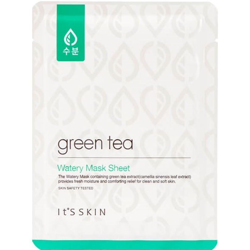 Маска It s Skin Green Tea Watery Mask Sheet (1 шт) tony moly маска для лица pureness 100 green tea mask sheet
