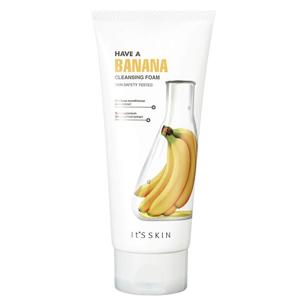 цена на Пенка It s Skin Banana Cleansing Foam 150 мл