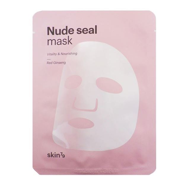 Маска Skin79 Nude Seal Mask Red Ginseng (1 шт) тканевая маска secret a skin guardian aqua 3 step total facial mask
