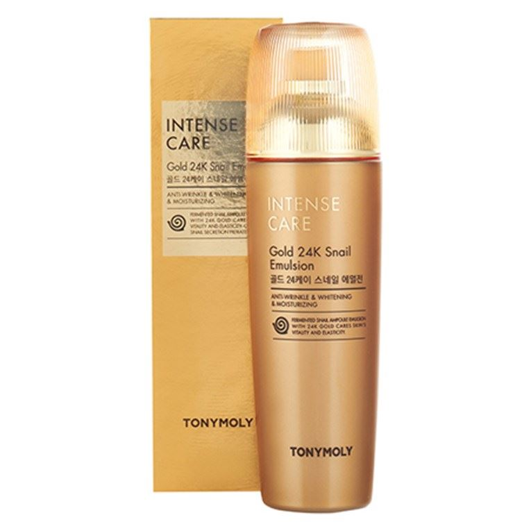 Эмульсия Tony Moly Gold 24k Snail Emulsion (140 г)