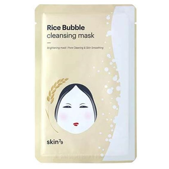 Маска Skin79 Rice Bubble Cleansing Mask (1 шт) skinfood rice маска смываемая для лица rice маска смываемая для лица