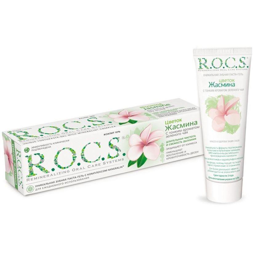Зубная паста R.O.C.S. Blooming Jasmine Refreshing Green Tea Aroma (94 г) мурат тхагалегов за тебя колым отдам
