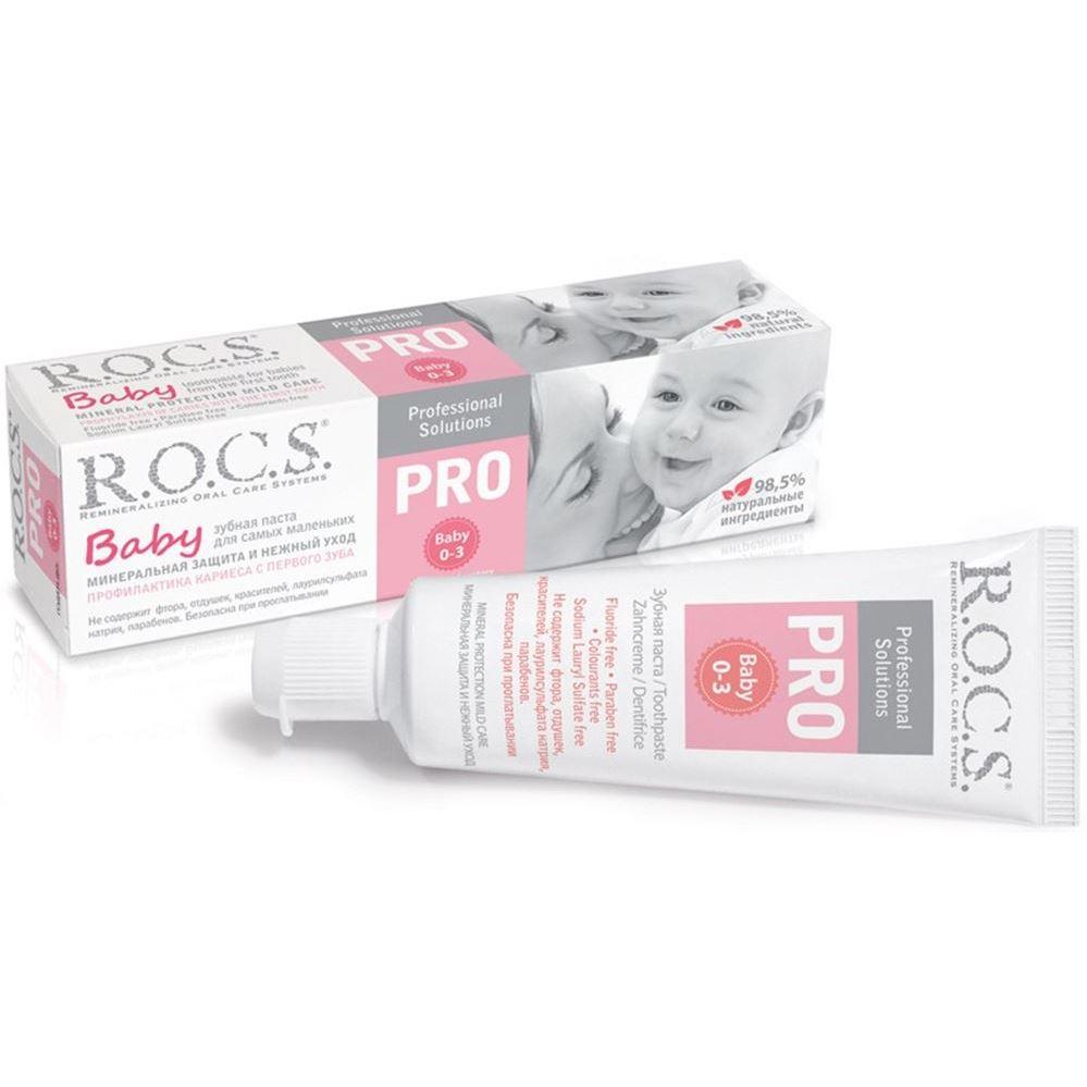 Набор R.O.C.S. Baby 0-3 (Набор: з/паста + з/щетка Pro Baby) пускатели 3 з 3 р купить