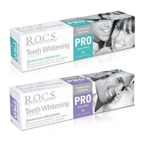 Зубная паста R.O.C.S. Teeth Whitening  (Sweet Mint) 2017 teeth whitening oral irrigator electric teeth cleaning machine irrigador dental water flosser professional teeth care tools