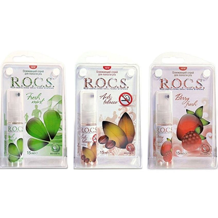 Спрей R.O.C.S. Refreshing Mouth Spray (Fresh mint)