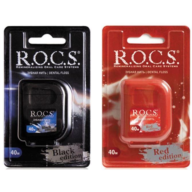 Сопутствующие товары R.O.C.S. Dental Floss (Red Edition)