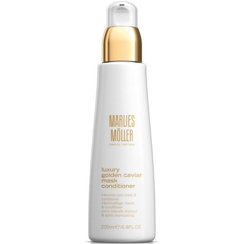 Кондиционер Marlies Moller Luxury Golden Caviar Mask Conditioner 200 мл кондиционер keune golden blonde conditioner объем 200 мл