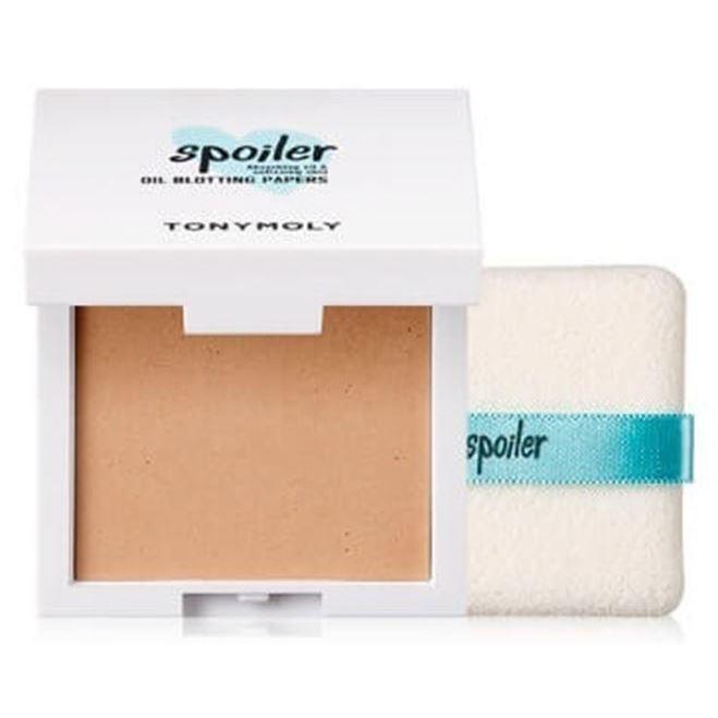 Салфетки Tony Moly Spoiler Puff Oil Blotting Paper (50 шт) салфетки duni салфетки duni комплект 2 шт