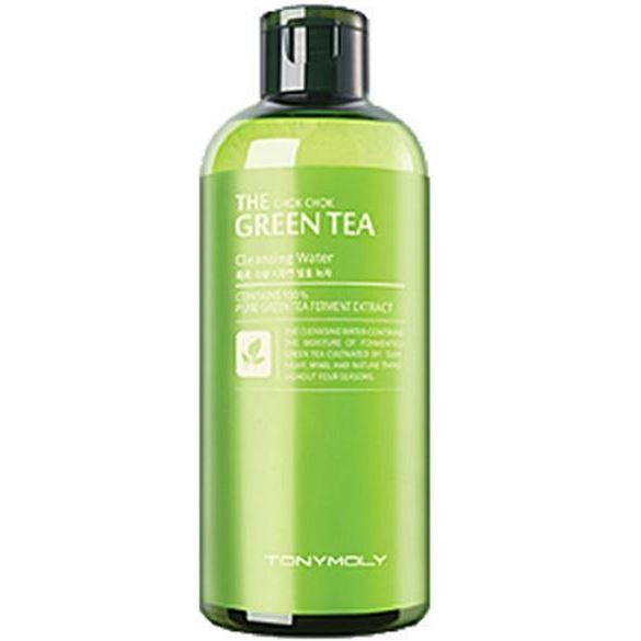 Вода Tony Moly The Chok Chok Green Tea Cleansing Water пенка the face shop green tea phyto powder cleansing foam объем 170 мл