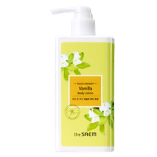 Лосьон The Saem Touch On Body Vanilla Body Lotion лосьон для тела naturalium body lotion – green apple объем 370 мл