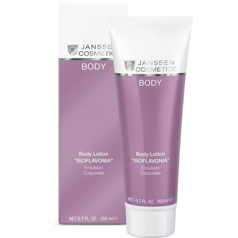 Эмульсия Janssen Cosmetics Body Lotion Isoflavonia 200 мл methode cholley suisse эмульсия для тела biolaston 200ml