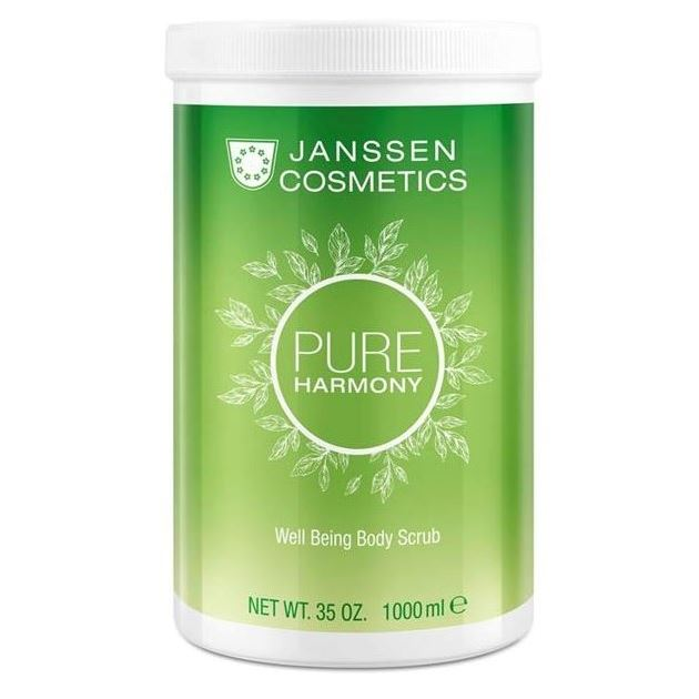 Скраб Janssen Cosmetics Pure Harmony Well Being Body Scrub 1000 мл корректоры janssen cosmetics tinted corrective balm medium
