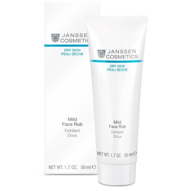 Скраб Janssen Cosmetics Mild Face Rub janssen dry skin мягкий скраб для лица с гранулами жожоба mild face rub 50мл 200мл объем 50 мл