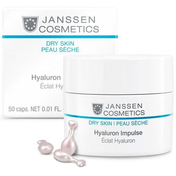 Концентрат Janssen Cosmetics Hyaluron Impulse (50 капсул) janssen антикуперозный концентрат 50 мл