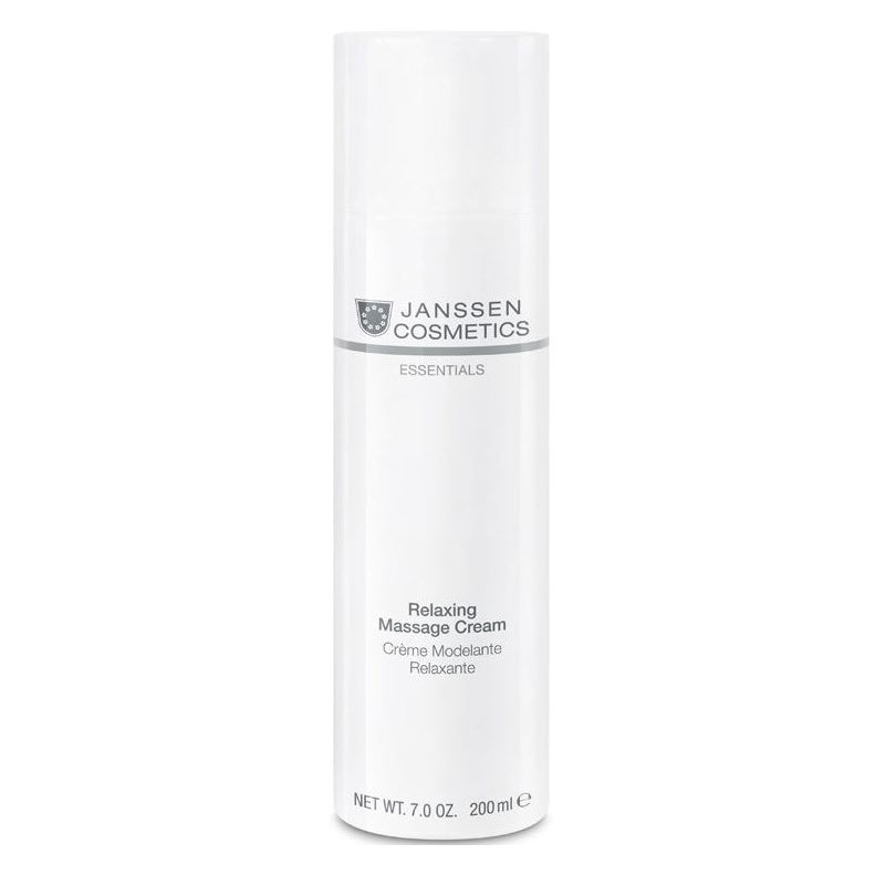 Крем Janssen Cosmetics Relaxing Massage Cream janssen релаксирующий массажный крем для лица janssen dry skin relaxing massage cream 5580p 200 мл