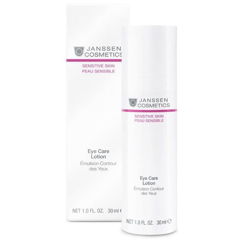 Эмульсия Janssen Cosmetics Eye Care Lotion 50 мл janssen sensitive skin soothing face lotion успокаивающая смягчающая эмульсия 50 мл