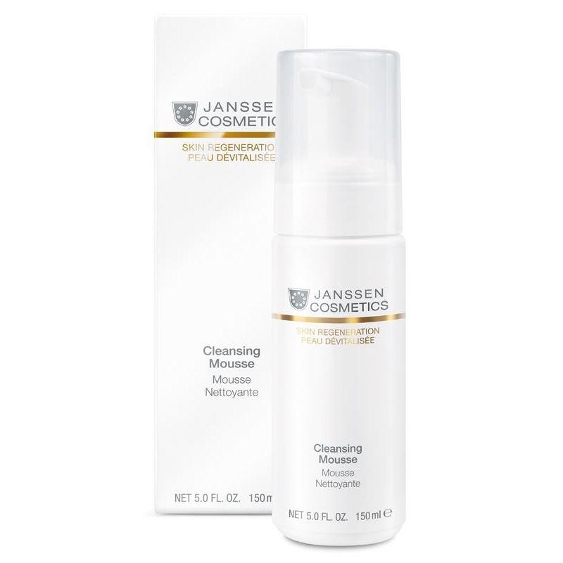 Мусс Janssen Cosmetics Cleansing Mousse cleansing очищающий бальзам для лица с облепиховым маслом