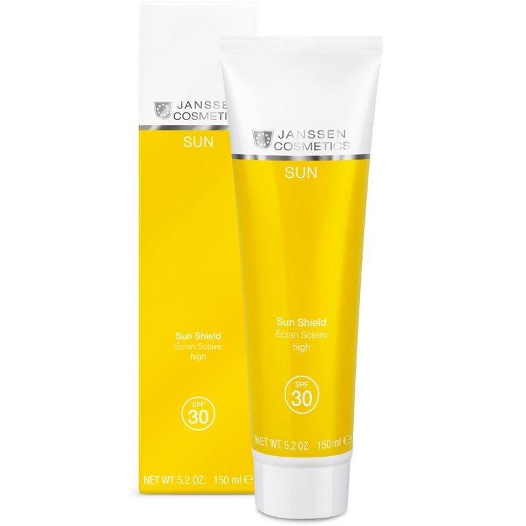 Эмульсия Janssen Cosmetics Sun Shield SPF 30 janssen эмульсия для лица и тела с максимальной защитой spf 50 75 мл