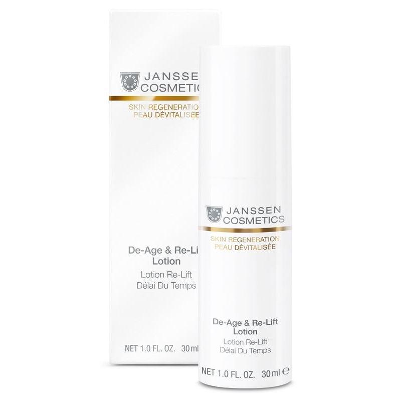 Эмульсия Janssen Cosmetics De-Age & Re-Lift Lotion 30 мл janssen anti age экстралифтинг концентрат janssen skin regeneration de age and re lift concentrate 130 30 мл