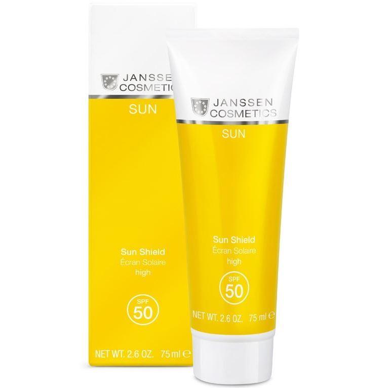 Эмульсия Janssen Cosmetics Sun Shield SPF 50 75 мл 4pcs set smoke sun rain visor vent window deflector shield guard shade for hyundai tucson 2016