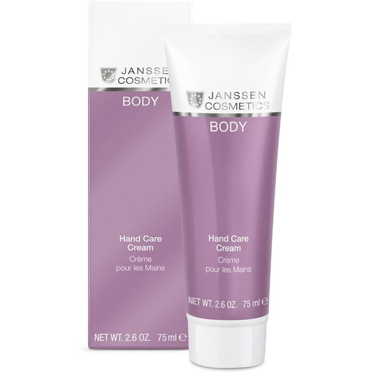 Крем Janssen Cosmetics Hand Care Cream 75 мл корректоры janssen cosmetics tinted corrective balm medium
