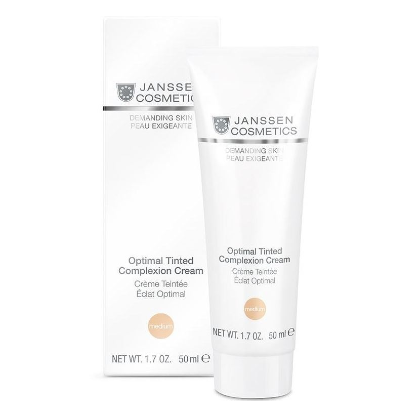 Крем Janssen Cosmetics Optimal Tinted Complexion Cream Medium недорого