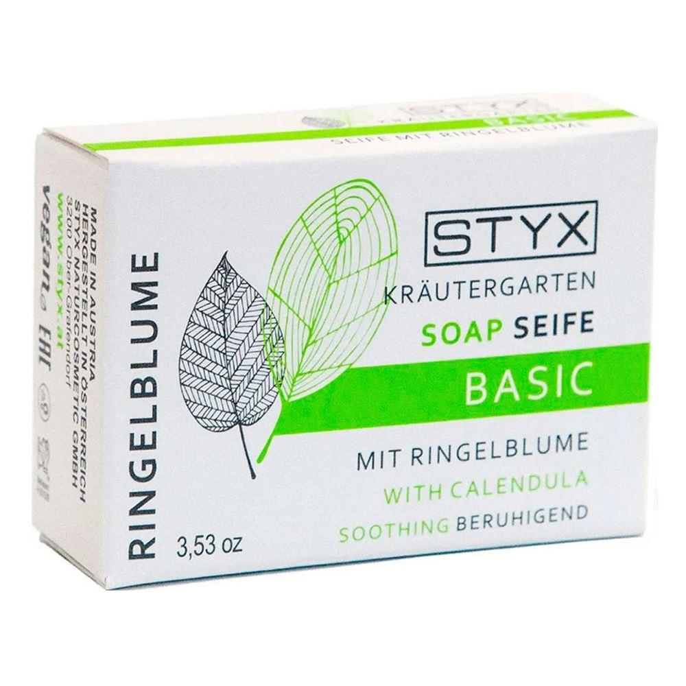 Мыло STYX Мыло Календула (100 гр) гелевые термоактивные об ртывания styx