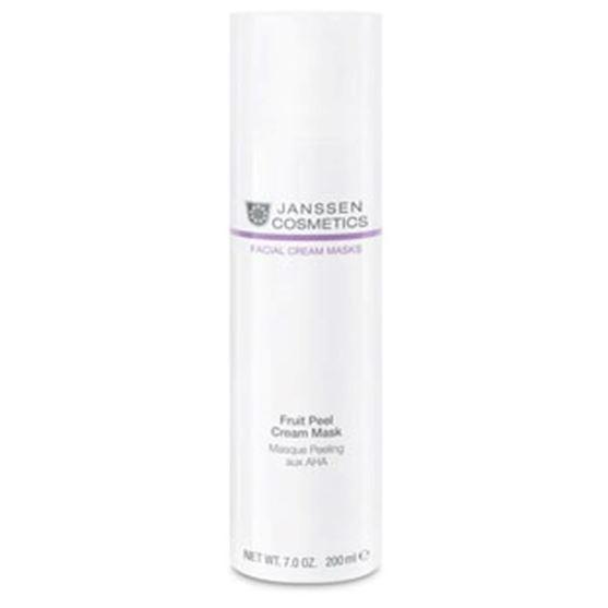 Маска Janssen Cosmetics Fruit Peel Cream Mask holyland laboratories активный крем с aha кислотами active cream 50 мл alpha complex