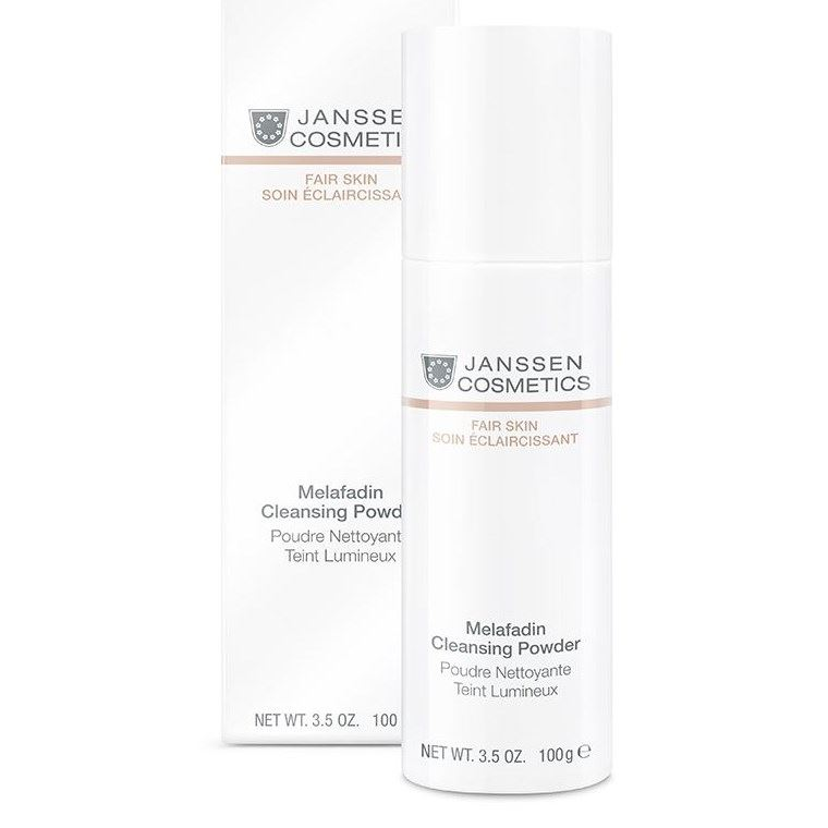 Пудра Janssen Cosmetics Melafadin Cleansing Powder (100 г для профессионального использования) корректоры janssen cosmetics tinted corrective balm medium