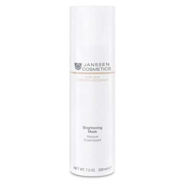 Крем Janssen Cosmetics Brightening Mask 150 мл мусс janssen cosmetics cleansing mousse 150 мл