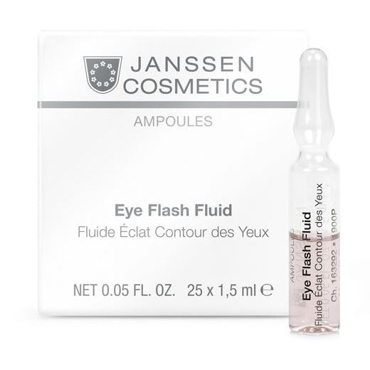 Ампулы Janssen Cosmetics Eye Flash Fluid (7*1.5 мл) недорого