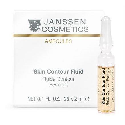 Ампулы Janssen Cosmetics Skin Contour Fluid (Юбилейный набор Anti-age лифтинг-сыворотка в ампулах с пептидами, 7*2 мл) ампулы janssen cosmetics мela fadin effect fluid 3 2 мл