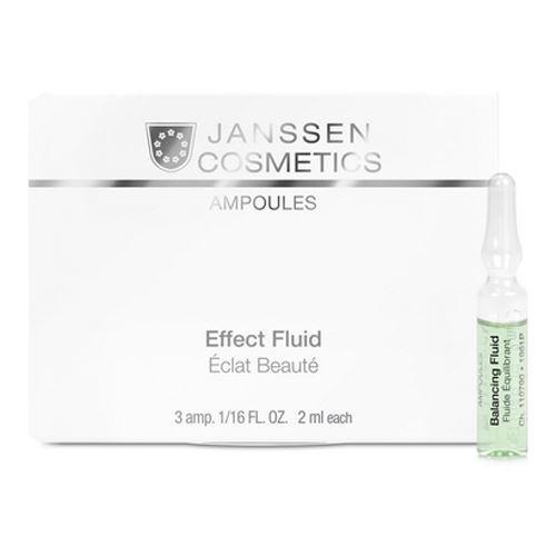 Ампулы Janssen Cosmetics Balancing Effect Fluid ампулы janssen cosmetics мela fadin effect fluid 3 2 мл
