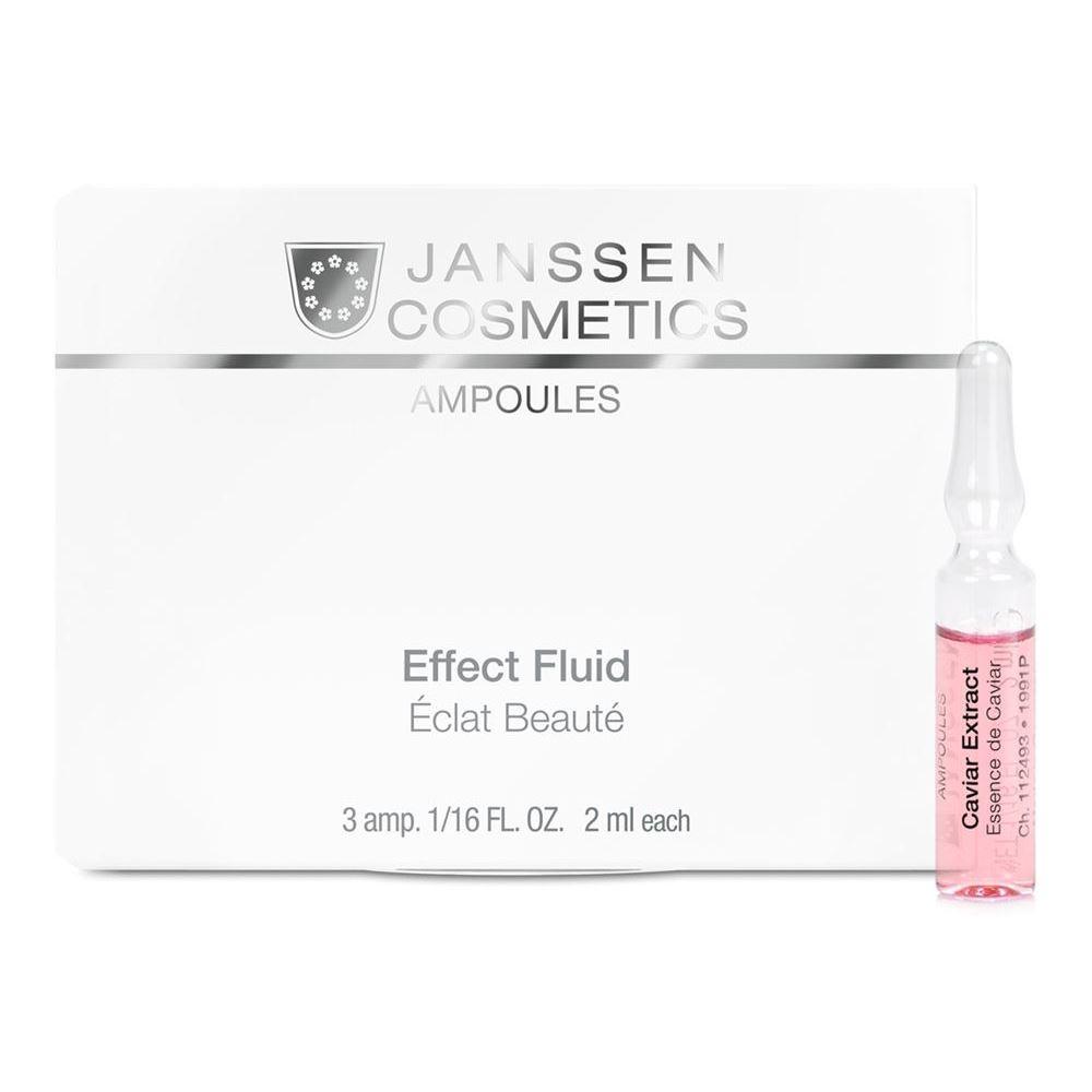 Ампулы Janssen Cosmetics Caviar Effect Extract (Юбилейный набор Ампульный концентрат с экстрактом икры, 7*2 мл) janssen антикуперозный концентрат 50 мл