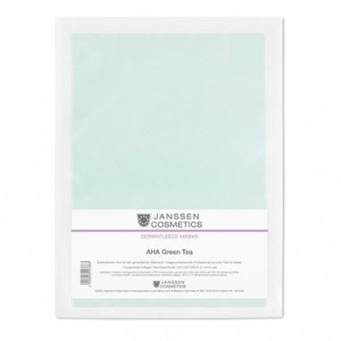 Маска Janssen Cosmetics Collagen AHA Green Tea Mask (1 шт) маска it s skin green tea watery mask sheet 1 шт