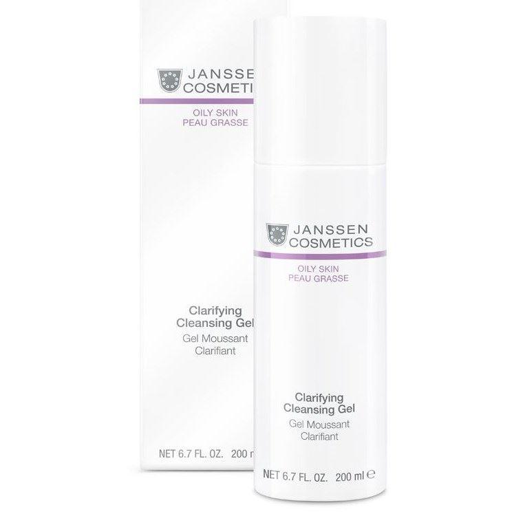 Гель Janssen Cosmetics Clarifying Cleansing Gel 500 мл мусс janssen cosmetics cleansing mousse 150 мл