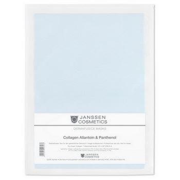 Маска Janssen Cosmetics Collagen Allantoin & Panthenol Mask (1 шт) корректоры janssen cosmetics tinted corrective balm medium
