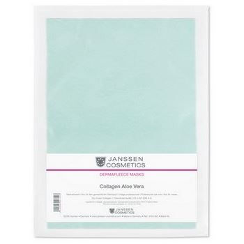 Маска Janssen Cosmetics Collagen Aloe Vera Mask (1 шт) росмэн развивающие карточки буквы 0 умные карточки